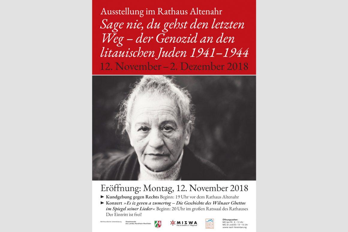 Ausstellung in Altenahr 2018